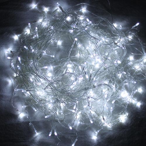 led wei 200leds 10m lichterkette strip garten au en weihnachten eisregen. Black Bedroom Furniture Sets. Home Design Ideas