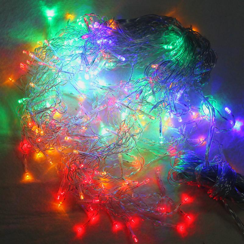 600 leds eiszapfen weihnachten lichterkette eisregen weihnachtsbeleuchtung rgb. Black Bedroom Furniture Sets. Home Design Ideas