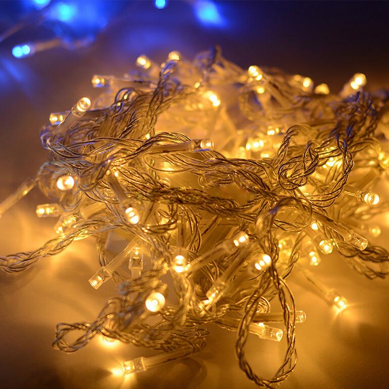 led lichterkette lichterketten lichternetz strip au en weihnachten beleuchtung ebay. Black Bedroom Furniture Sets. Home Design Ideas