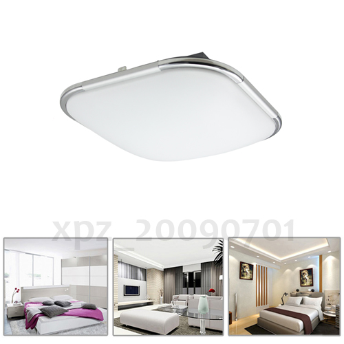 12 48w led alu matt deckenleuchte energiespar lampe wohnzimmer k chen ebay. Black Bedroom Furniture Sets. Home Design Ideas