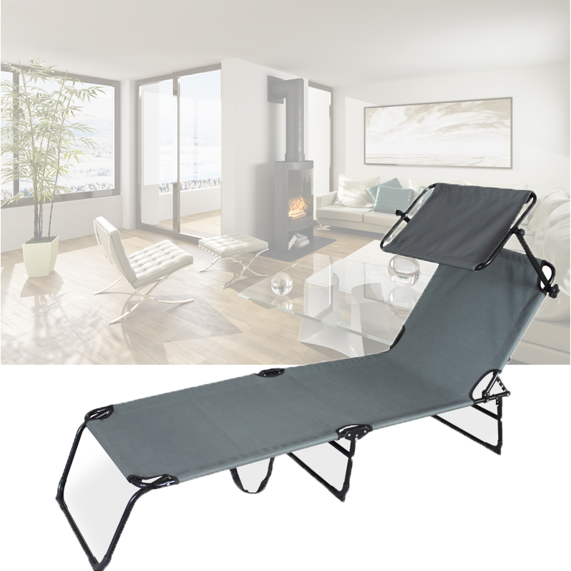 sonnenliege mit sonnendach strandliege klappbar gartenliege liege mit dach ebay. Black Bedroom Furniture Sets. Home Design Ideas