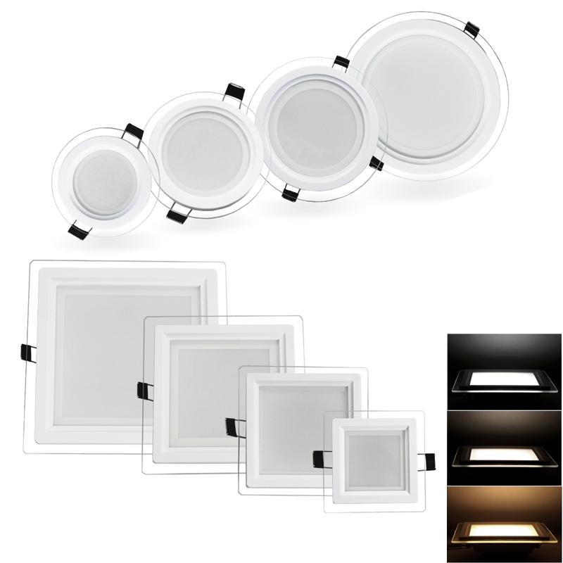 3in1 5w 18w led panel einbaustrahler deckenleuchte lampe farbwechsel wandlampe ebay. Black Bedroom Furniture Sets. Home Design Ideas