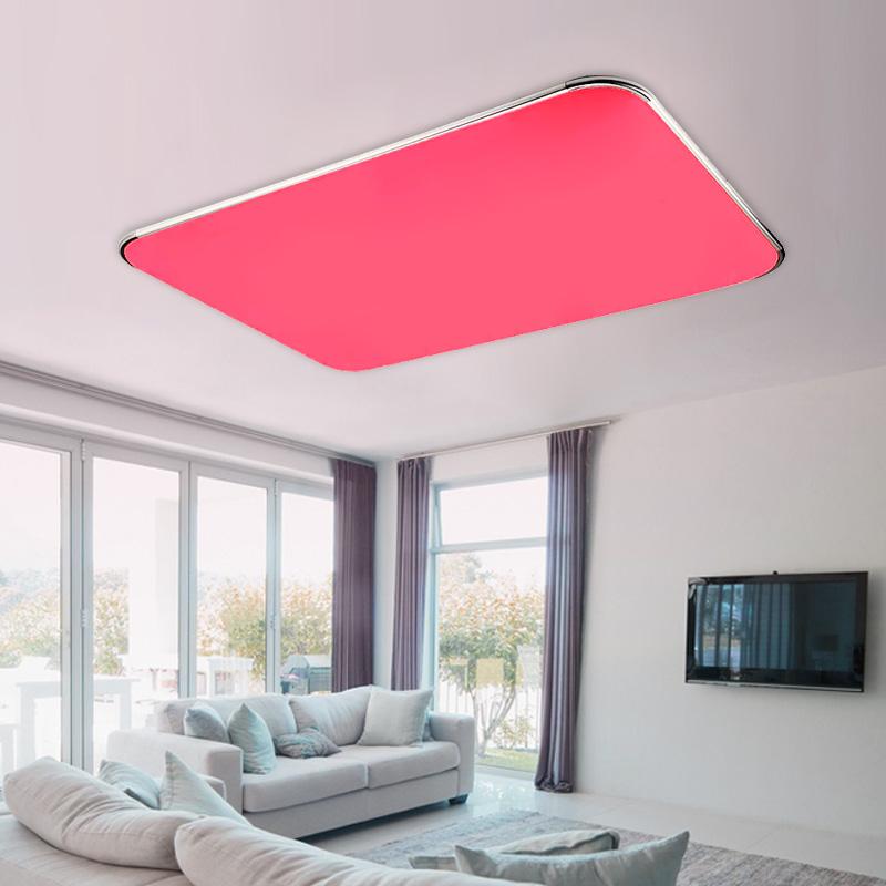 farbwechsel led deckenleuchte 25w 90w rgb deckenlampe badlampe mit kontroller. Black Bedroom Furniture Sets. Home Design Ideas