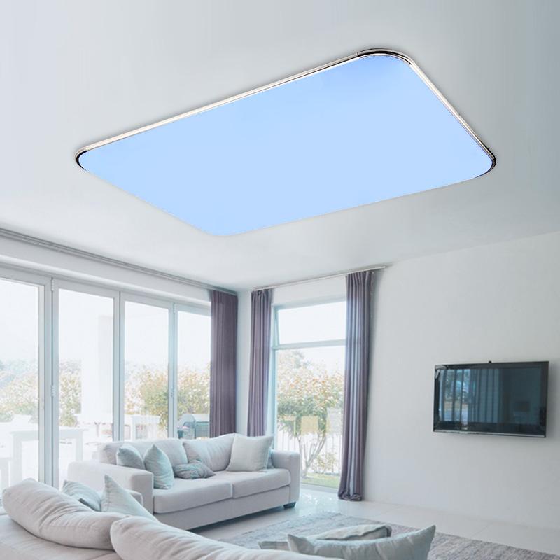 25w 36w dimmbar rgb led deckenleuchte deckenlampe wohnzimmer k che fernbedienung ebay. Black Bedroom Furniture Sets. Home Design Ideas