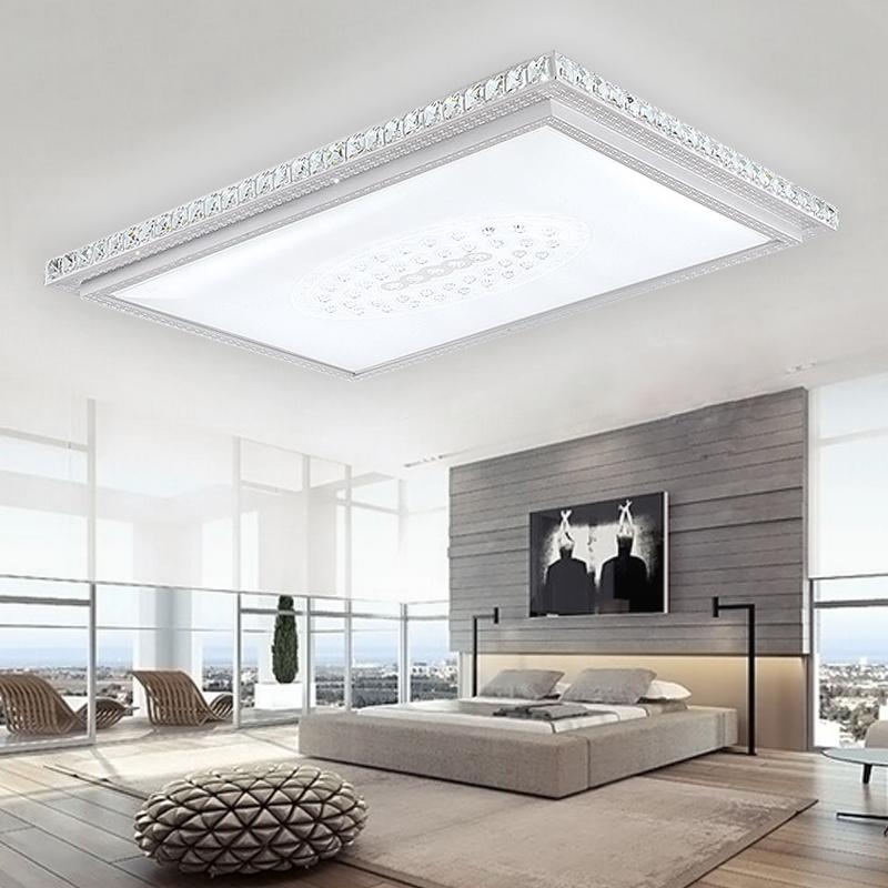 36w 48w 64w led kristall deckenleuchte schlafzimmer k che. Black Bedroom Furniture Sets. Home Design Ideas
