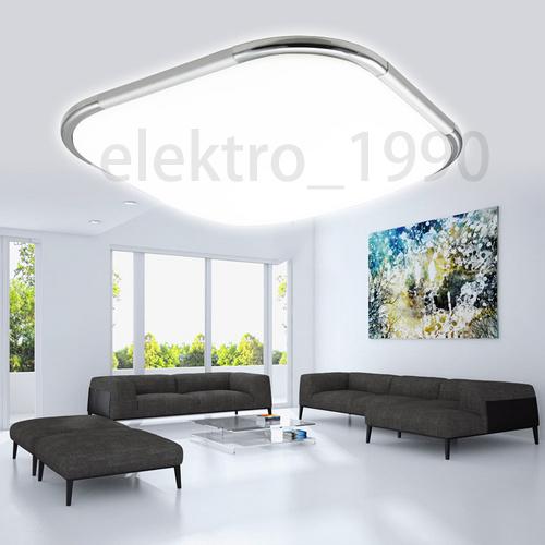 16w led deckenleuchte deckenlampe deckenbeleuchtung wohnzimmer modern kaufhaus ebay. Black Bedroom Furniture Sets. Home Design Ideas