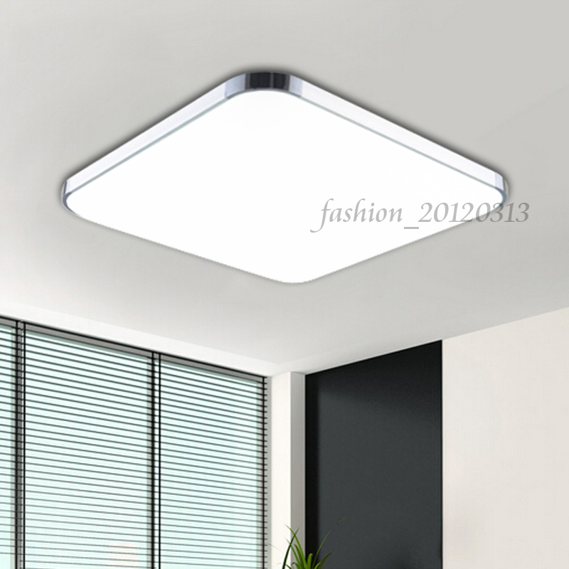 36w led deckenleuchte deckenbeleuchtung deckenlampe flur wohnzimmer k che wei ebay. Black Bedroom Furniture Sets. Home Design Ideas