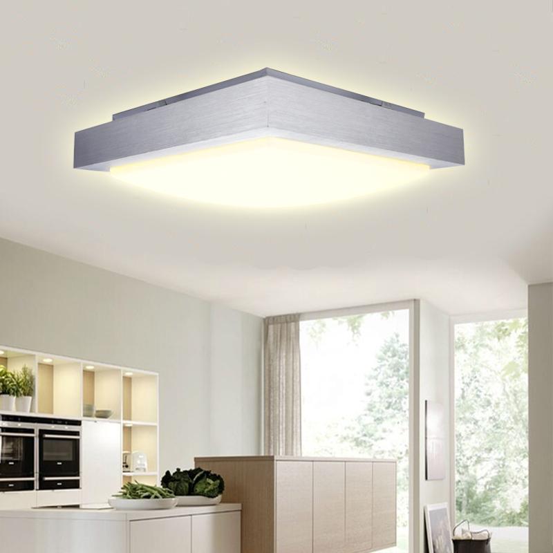 12w led deckenlampe deckenleuchte lampe panel beleuchtung k che leuchte flur ebay. Black Bedroom Furniture Sets. Home Design Ideas