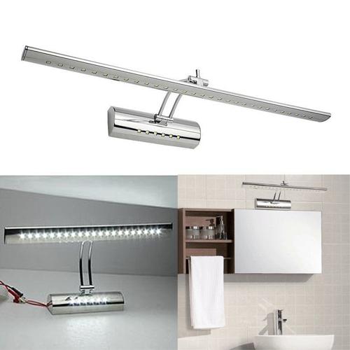 led spiegelleuchte mit schalter badleuchte kommode spiegellampe bilderleuchte. Black Bedroom Furniture Sets. Home Design Ideas