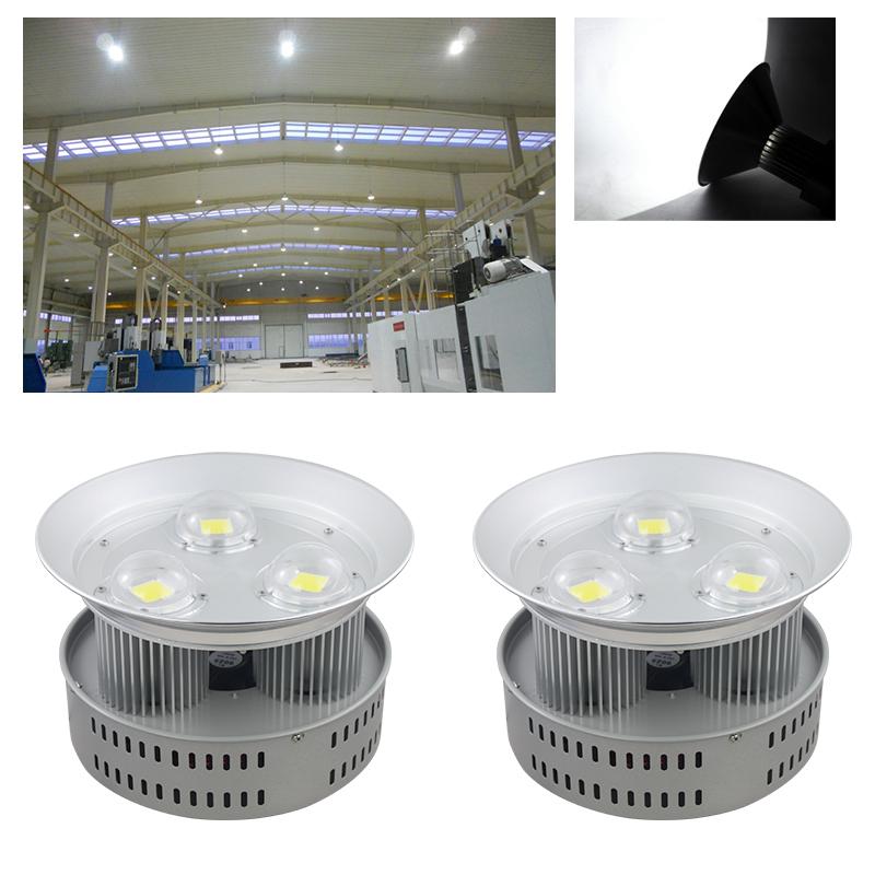 2x 150w led hallenleuchte industrie lampe strahler wei wasserdicht flutlicht ebay. Black Bedroom Furniture Sets. Home Design Ideas