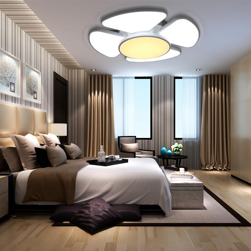 60w 132w farbwechsel led design deckenleuchte wandlampe wohnzimmer deckenlampe ebay. Black Bedroom Furniture Sets. Home Design Ideas