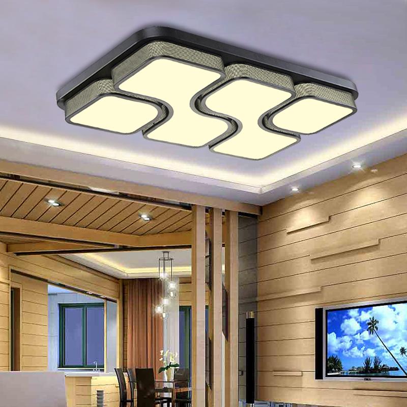 36w led deckenleuchte wandlampe deckenlampe wohnzimmer flur beleuchtung dimmbar ebay
