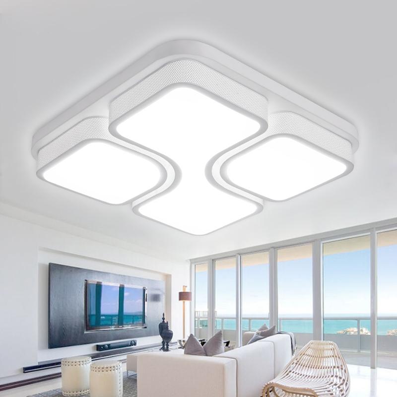 48w led deckenleuchte wohnzimmer deckenlampe badlampe gesch ft b ro leuchte flur. Black Bedroom Furniture Sets. Home Design Ideas