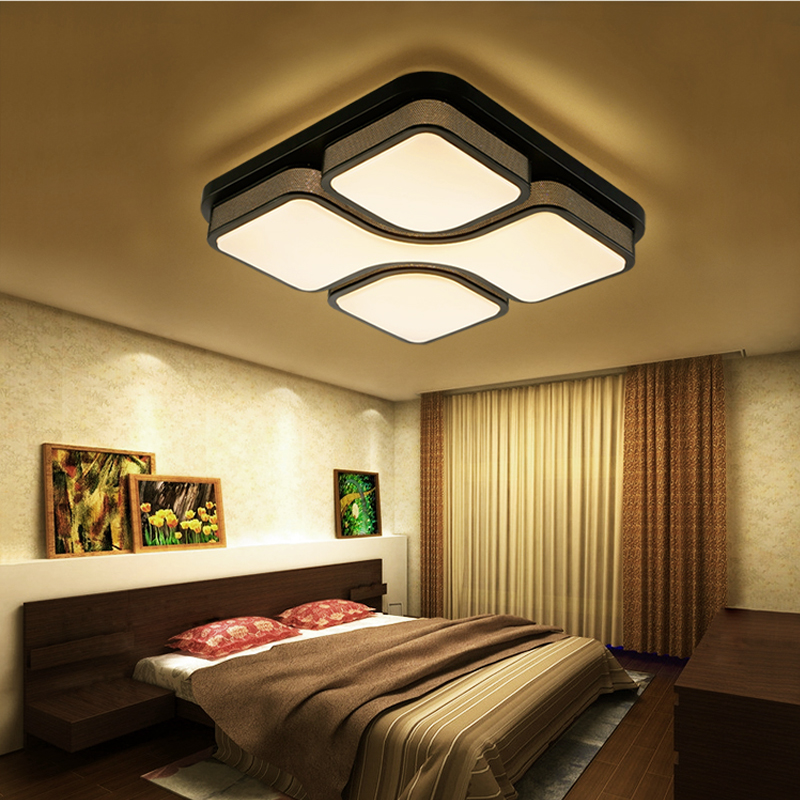 36w led deckenleuchte wandlampe deckenlampe wohnzimmer flur beleuchtung dimmbar ebay. Black Bedroom Furniture Sets. Home Design Ideas