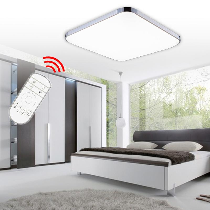 12w led deckenlampe deckenleuchte dimmbar mit fernbedienung ip44 wandlampe flur. Black Bedroom Furniture Sets. Home Design Ideas