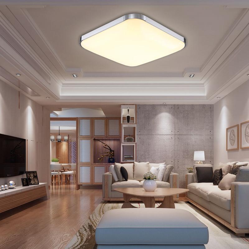 12w led deckenleuchte deckenbeleuchtung deckenlampe wohnzimmer k che warmwei ebay. Black Bedroom Furniture Sets. Home Design Ideas