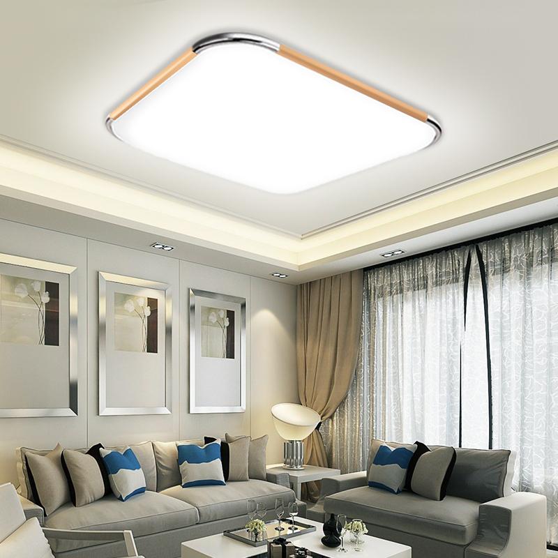 led deckenleuchte dimmbar deckenlampe wohnzimmer k che badleuchte pannel 16w 96w ebay. Black Bedroom Furniture Sets. Home Design Ideas