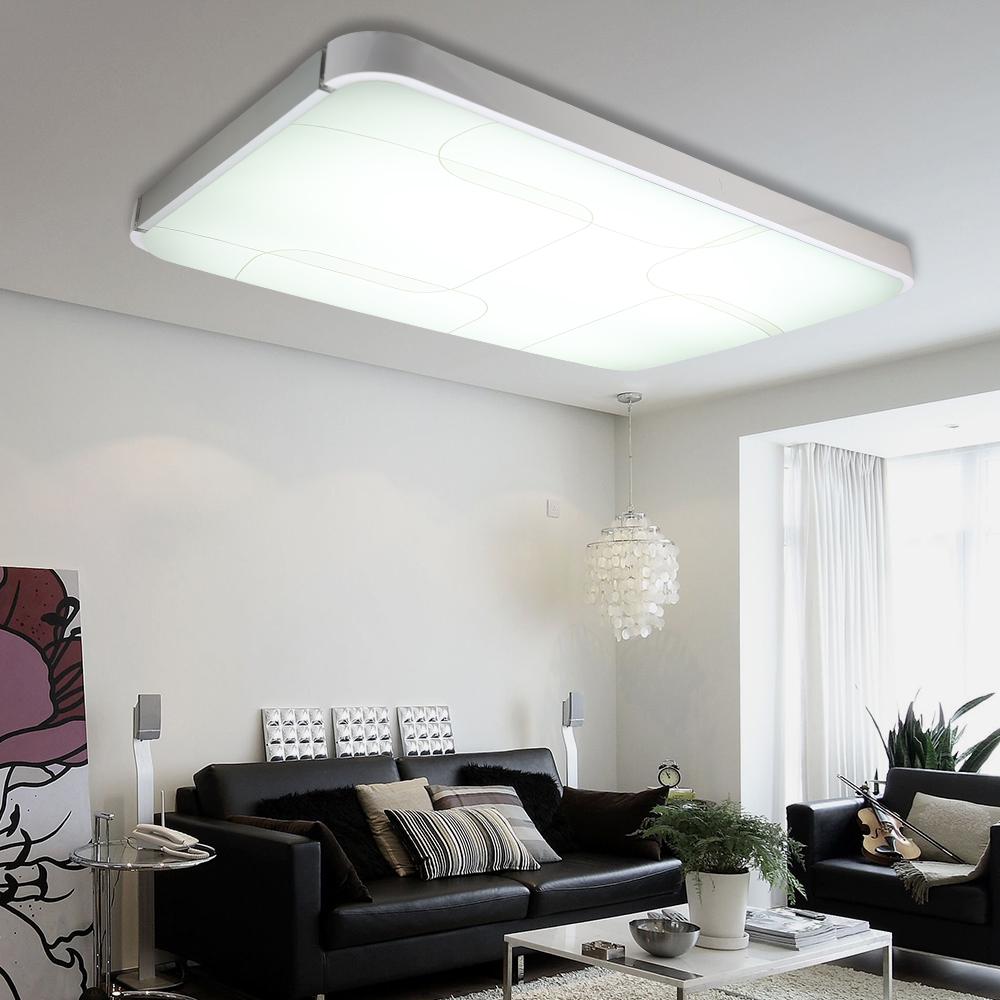 led deckenlampe deckenleuchte 36 96w beleuchtung dimmbar mit fernbedienung ebay