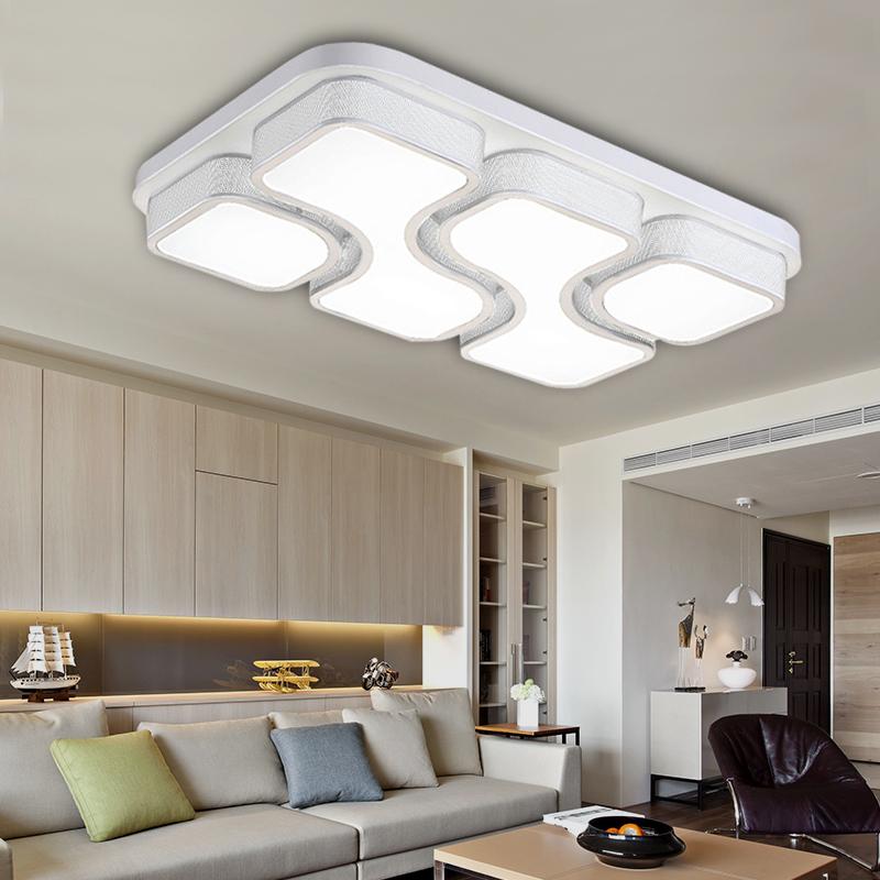 modern led deckenleuchte 36w 48w wohnzimmer deckenlampe badleuchte wandlampe ebay. Black Bedroom Furniture Sets. Home Design Ideas