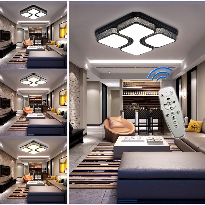 modern 36w 48w led deckenlampe deckenleuchte beleuchtung. Black Bedroom Furniture Sets. Home Design Ideas