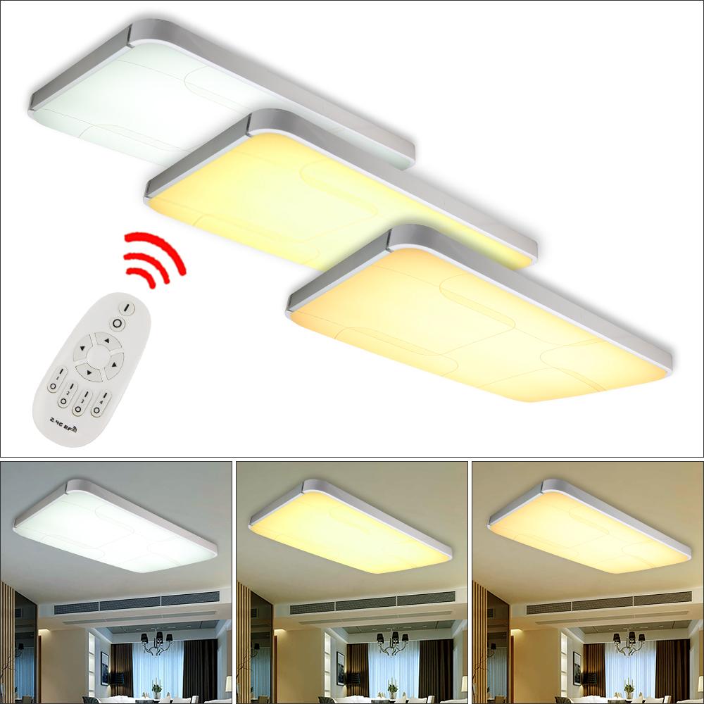 48W 96W LED Deckenleuchte Deckenlampe Dimmbar Küchen