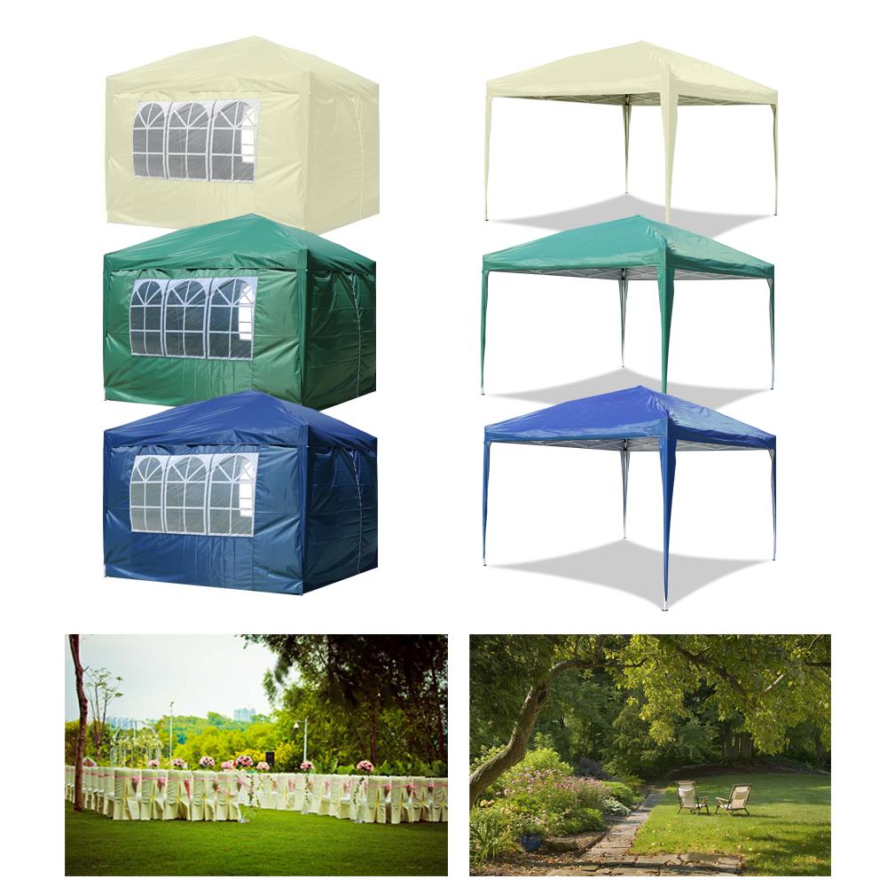 pavillon faltpavillon gartenzelt festzelt partyzelt klappzelt wasserdicht pe ebay. Black Bedroom Furniture Sets. Home Design Ideas