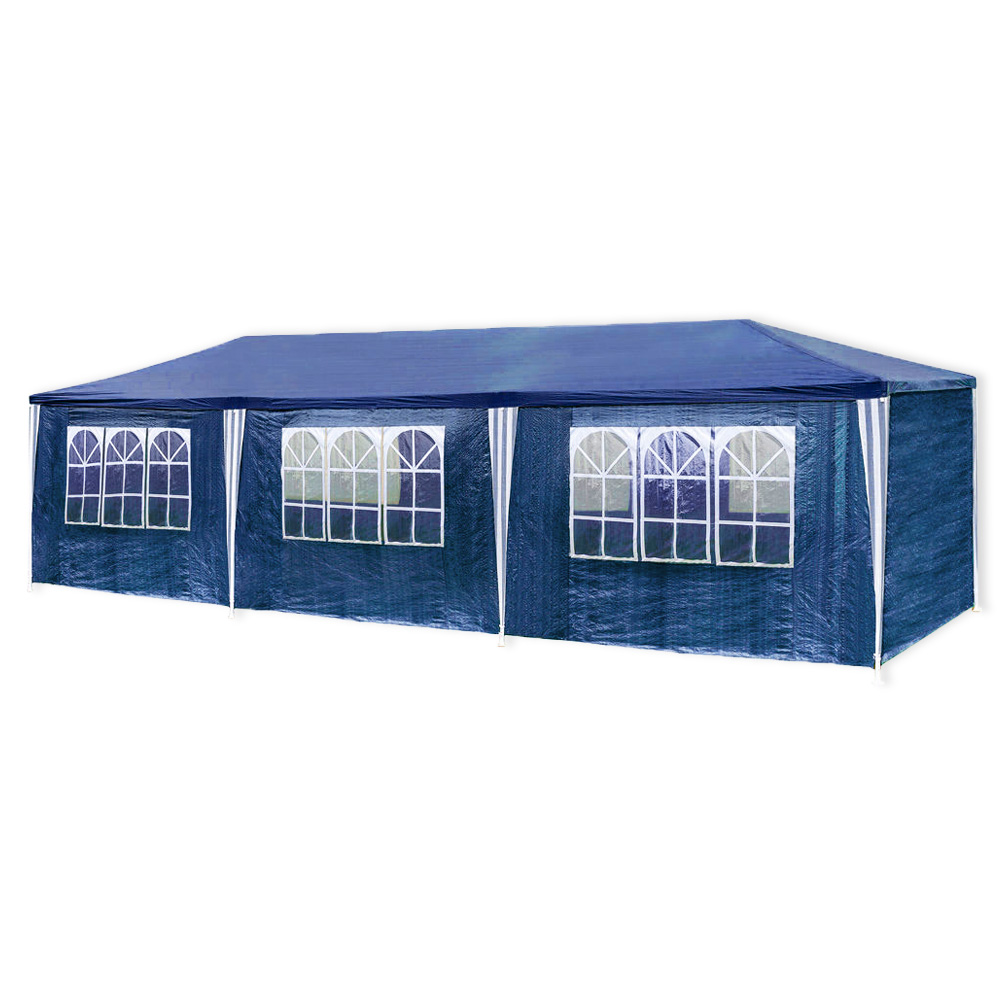 3x9m pavillon gartenzelt bierzelt partyzelt festzelt gartenpavillon wasserdicht ebay. Black Bedroom Furniture Sets. Home Design Ideas