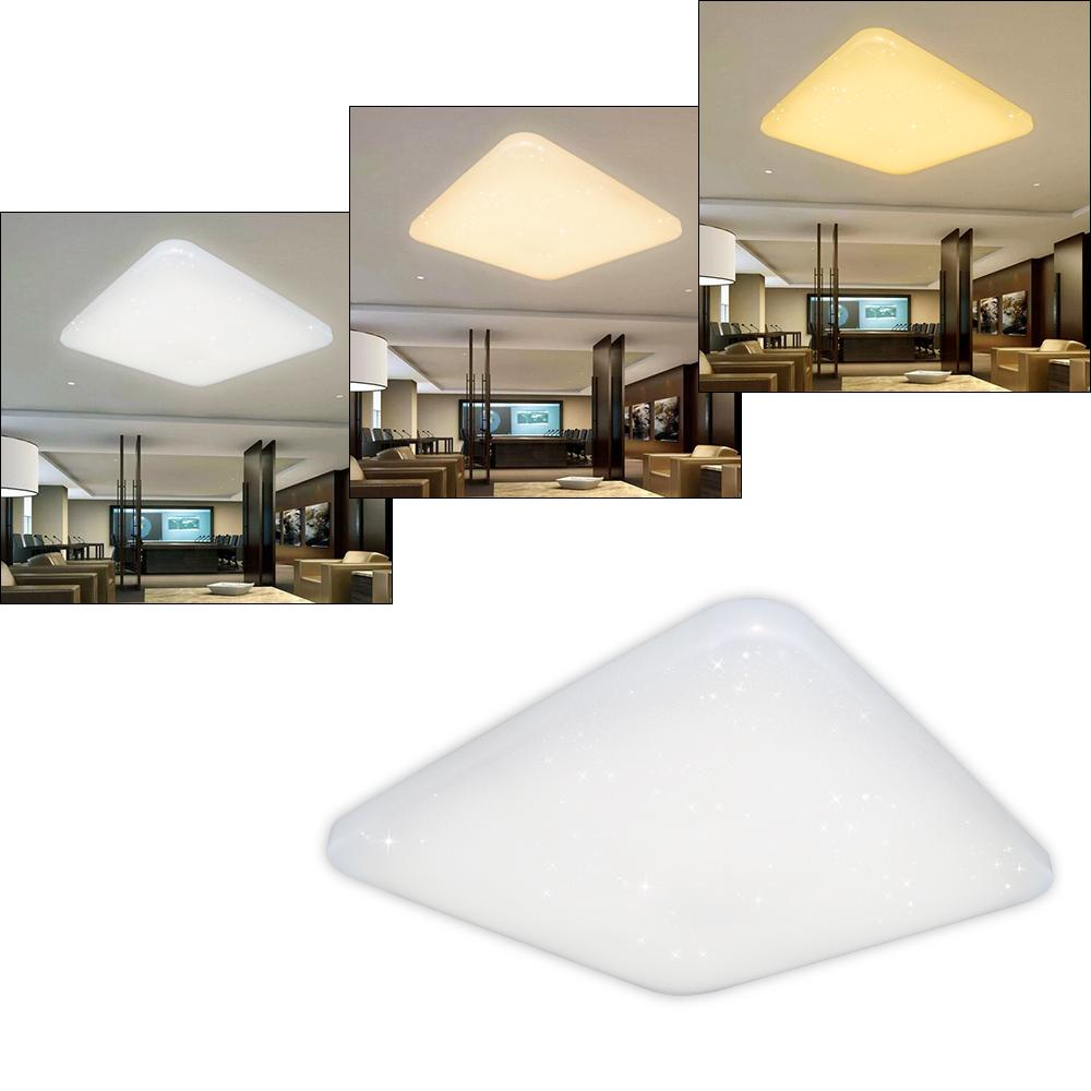 2x 60w led deckenleuchte deckenlampe badleuchte wohnzimmer wandlampe farbwechsel ebay. Black Bedroom Furniture Sets. Home Design Ideas