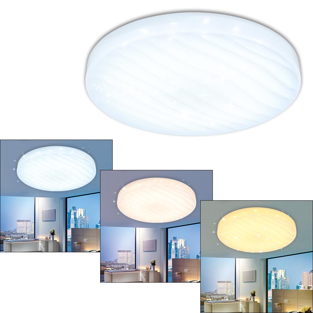 12w led 3in1 wellig deckenleuchte sternenhimmel wandlampe farbwechsel esszimmer ebay. Black Bedroom Furniture Sets. Home Design Ideas