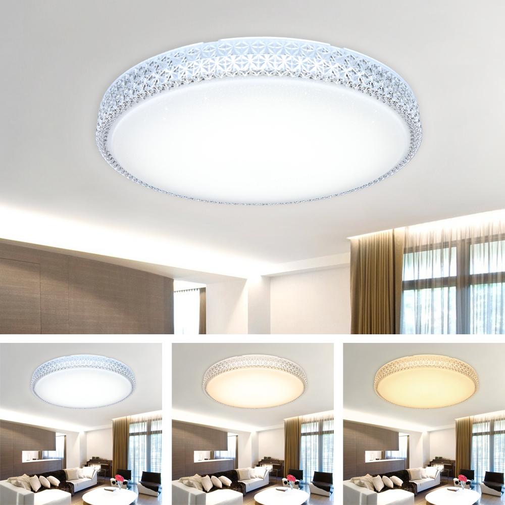 led decken leuchte wohnzimmer kristalle deckenlampe beleuchtung wandlampe k che ebay. Black Bedroom Furniture Sets. Home Design Ideas