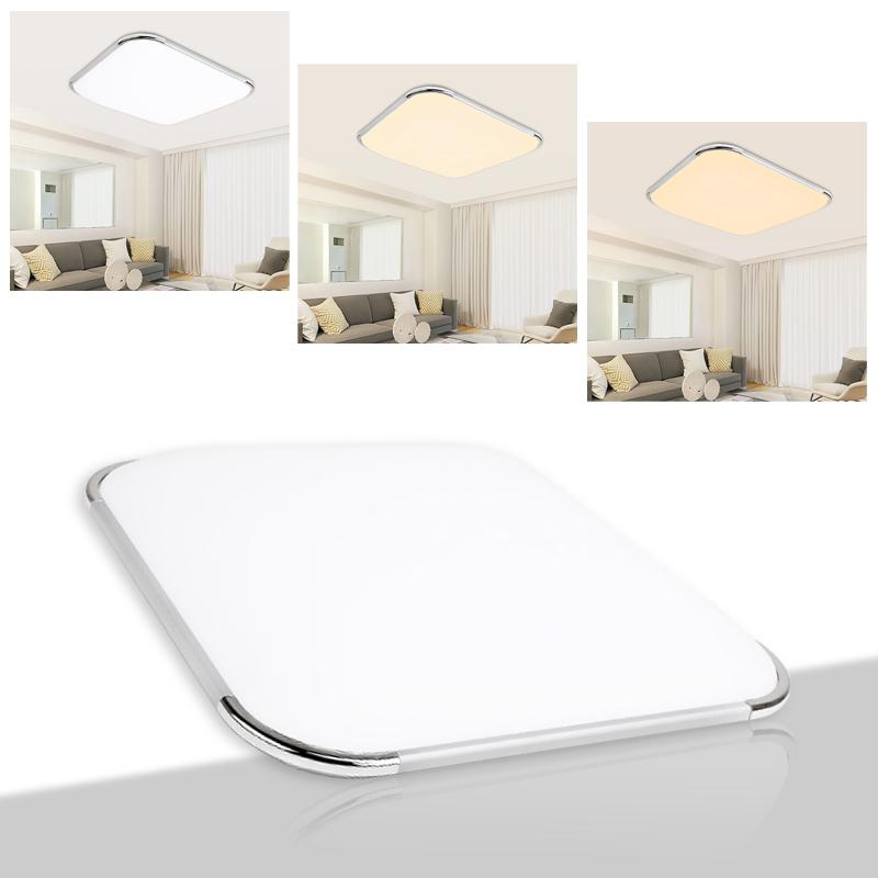 16w led deckenleuchte badleuchte k che deckenlampe wohnzimmer flur ip44 dimmbar ebay. Black Bedroom Furniture Sets. Home Design Ideas