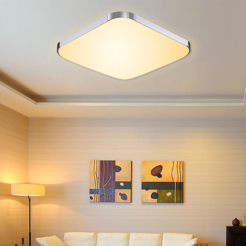 12w warmwei led deckenleuchte deckenlampe wohnzimmer wandlampe flur 85v 265v ebay. Black Bedroom Furniture Sets. Home Design Ideas