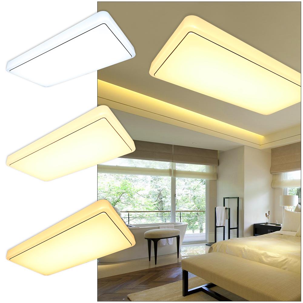 60w deckenleuchte deckenlampe wohnzimmer k che wandlampe flur badleuchte 3 in1 ebay. Black Bedroom Furniture Sets. Home Design Ideas
