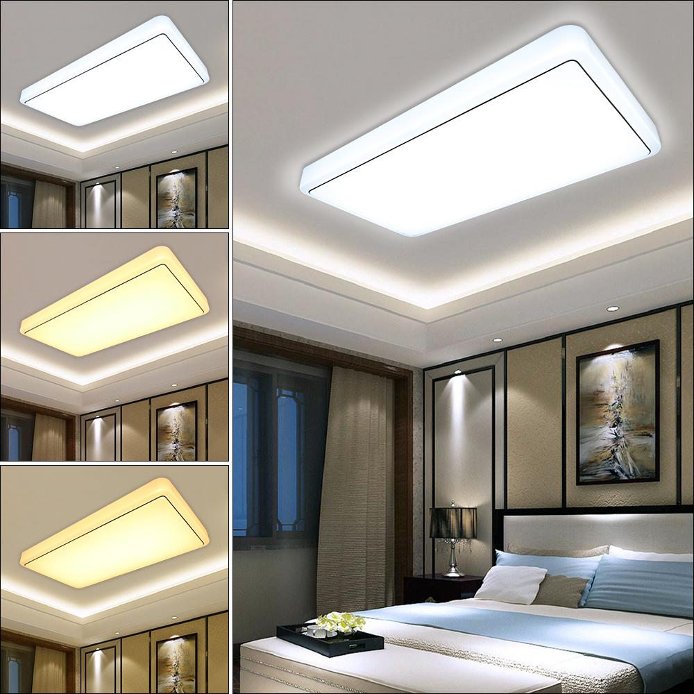 60w deckenleuchte deckenlampe wohnzimmer k che badleuchte 3 in1 wandlampe flur ebay. Black Bedroom Furniture Sets. Home Design Ideas