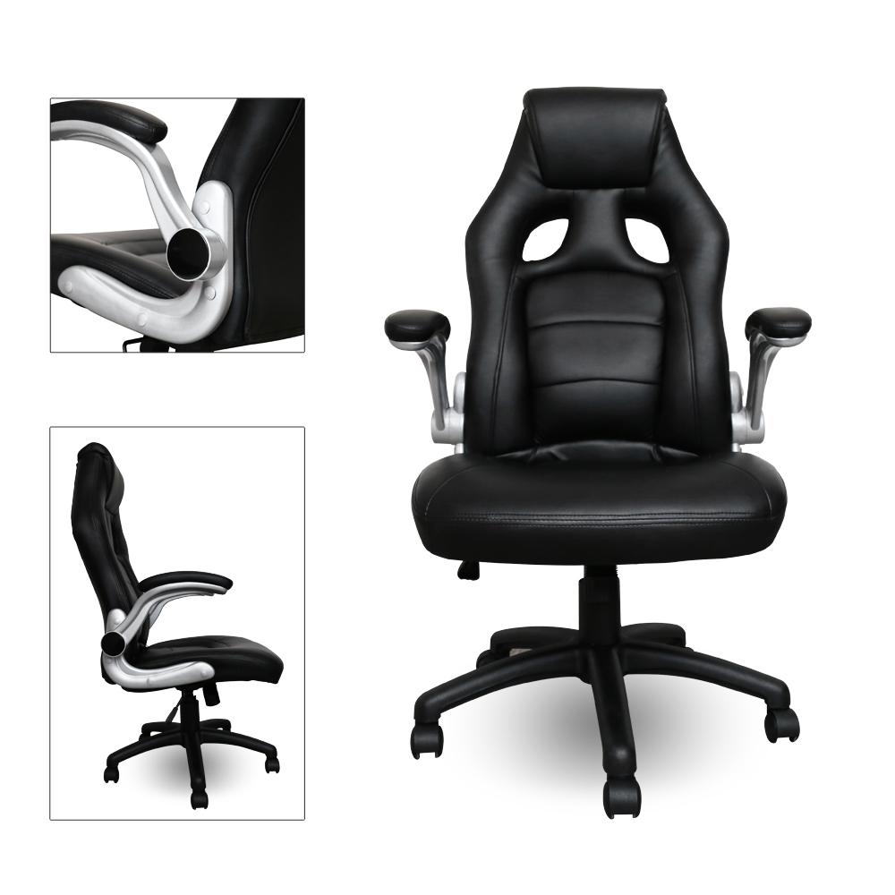 chefsessel b rostuhl sportsitz drehstuhl premium gaming stuhl wippmechanik ebay. Black Bedroom Furniture Sets. Home Design Ideas
