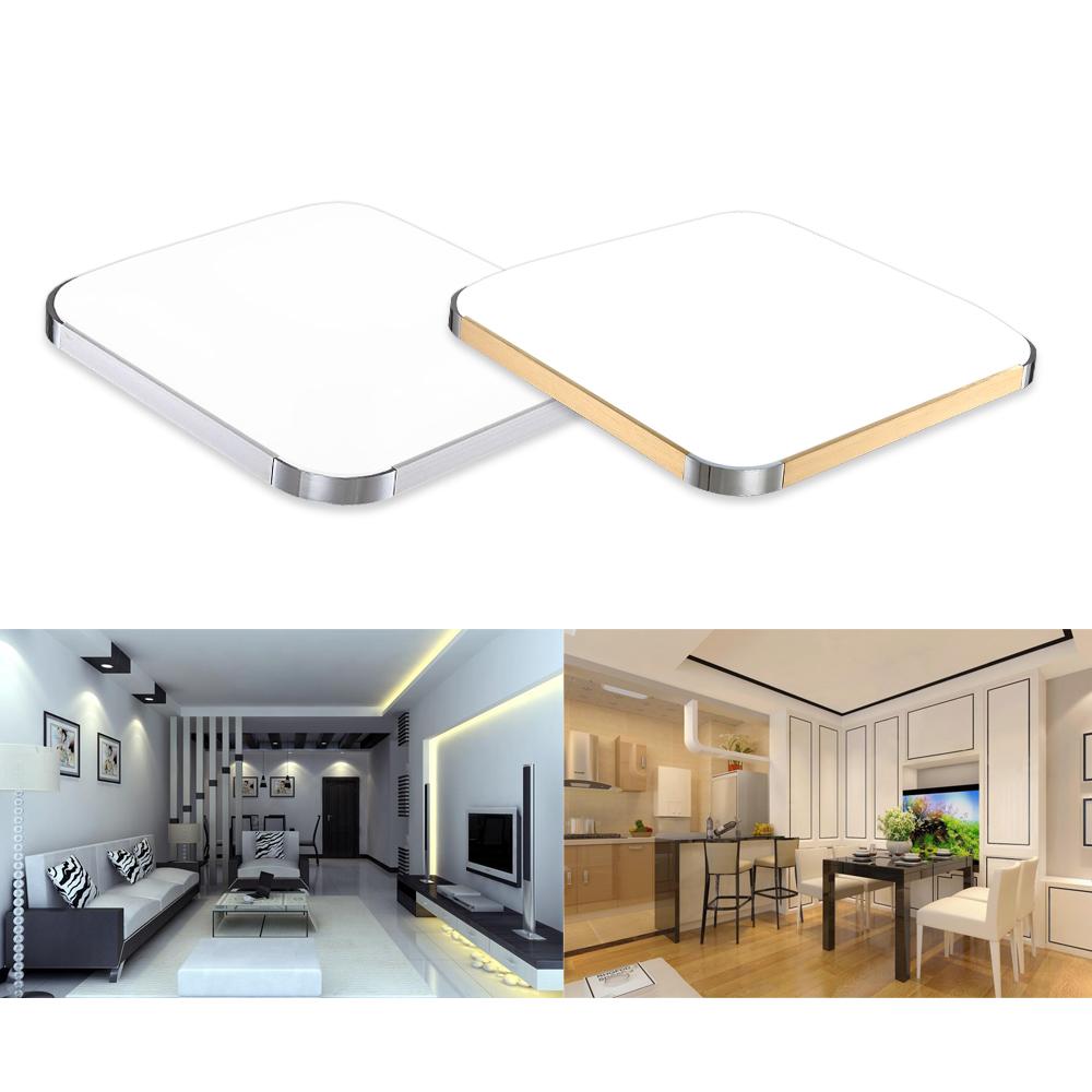 12w 96w led deckenlampe deckenleuchte k chenlampe aufbau. Black Bedroom Furniture Sets. Home Design Ideas