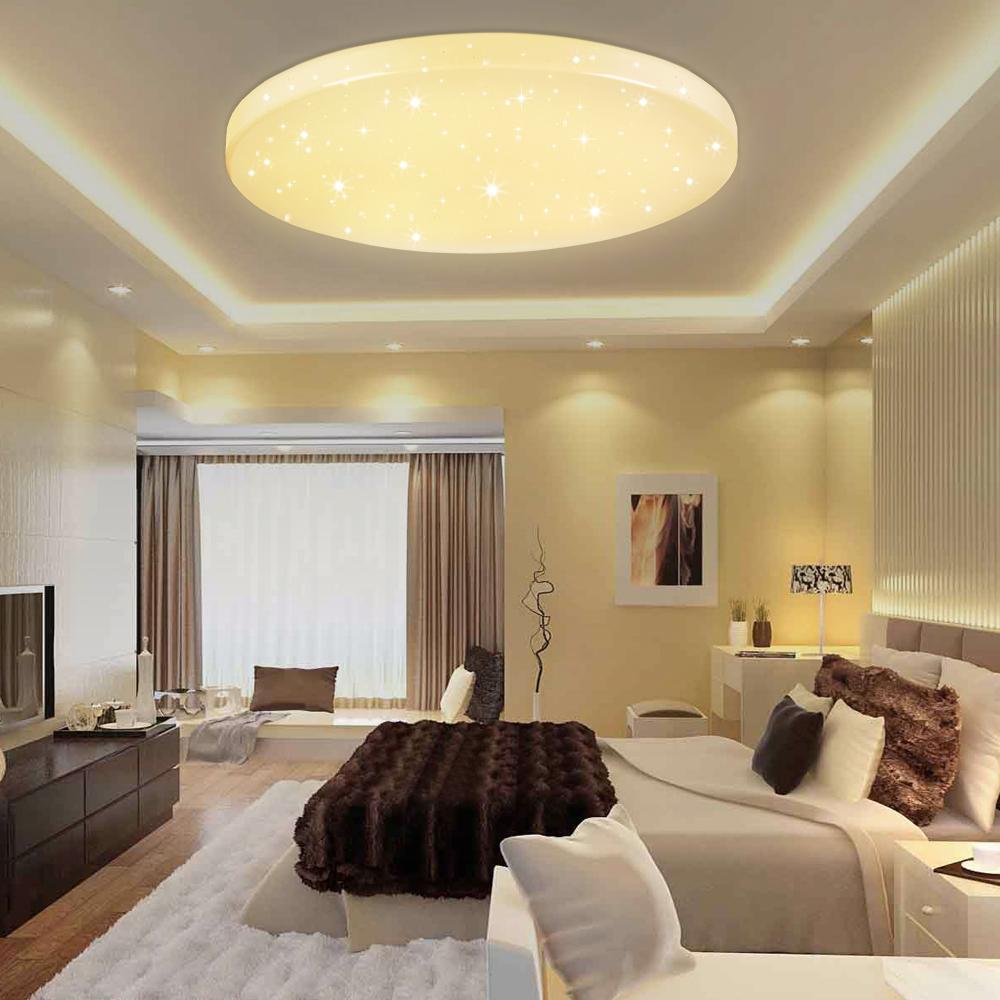 12w 60w led deckenleuchte schlafzimmer wandlampe wohnzimmer k che beleuchtung ebay. Black Bedroom Furniture Sets. Home Design Ideas
