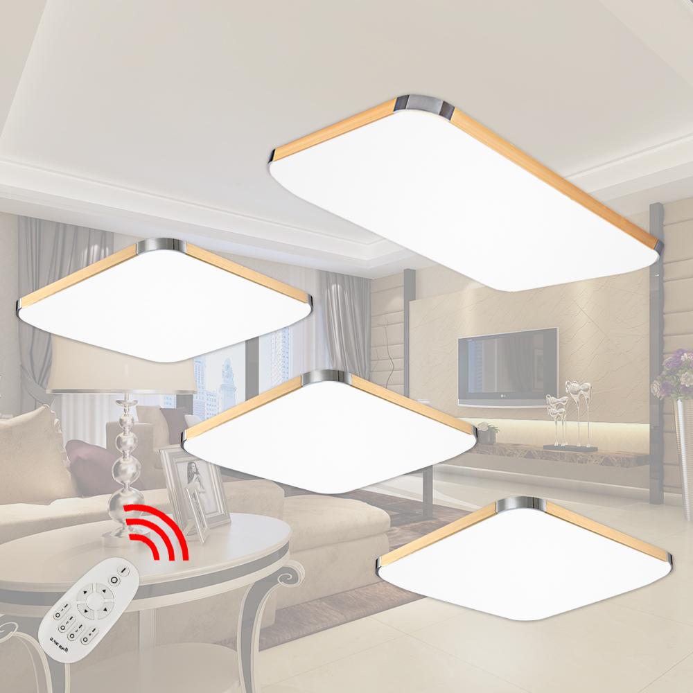 12 48w led deckenleuchte wohnzimmer wandlampe deckenlampe esszimmer beleuchtung ebay. Black Bedroom Furniture Sets. Home Design Ideas