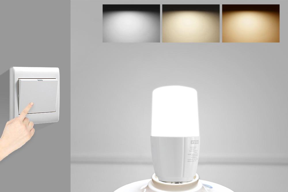 4X E27 8 LED Leuchtmittel Farbwechsel Lampe Stiftsockel Birne ...