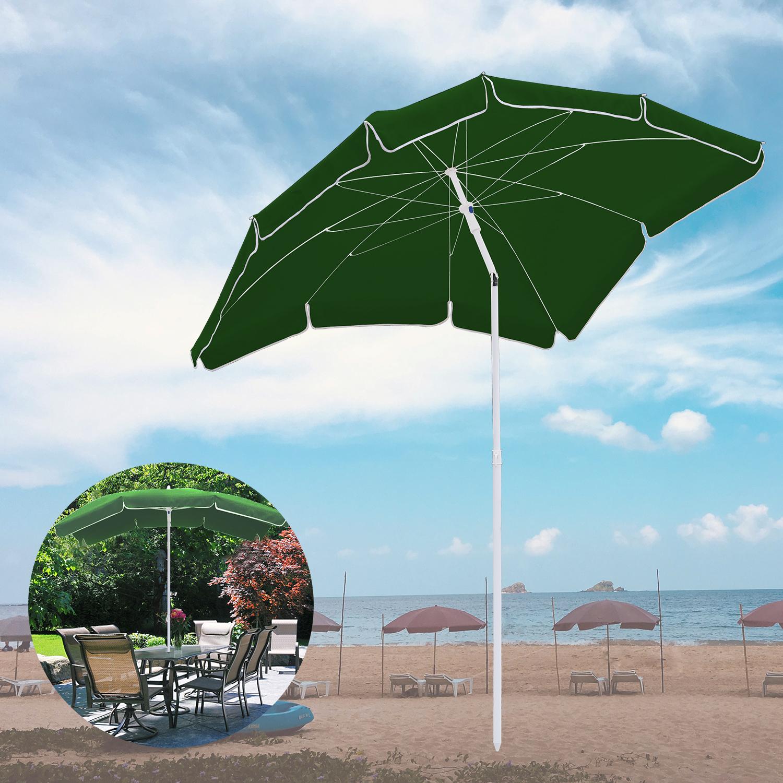 Sonnenschirm Garten Schirm Marktschirm Gartenschirm Ampelschirm Strand 2*1.55m
