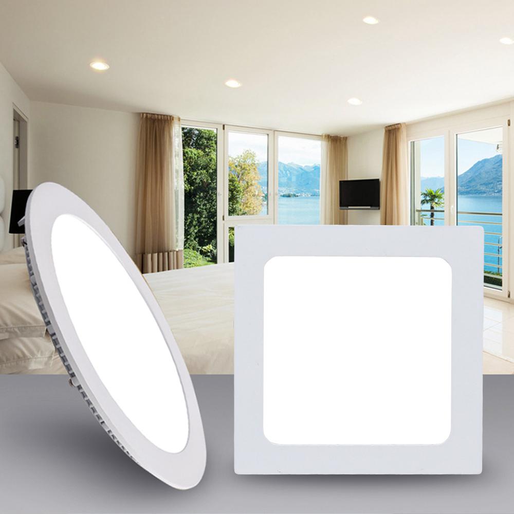 led panel leuchte einbau decken deckenleuchte beleuchtung farbwechsel ultraslim ebay. Black Bedroom Furniture Sets. Home Design Ideas