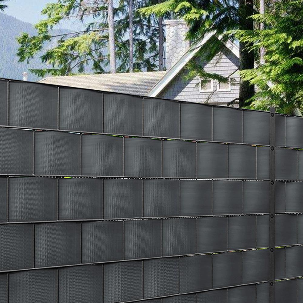 PVC Sichtschutz Rolle Streifen Sichtschutzfolie Doppelstabmatten