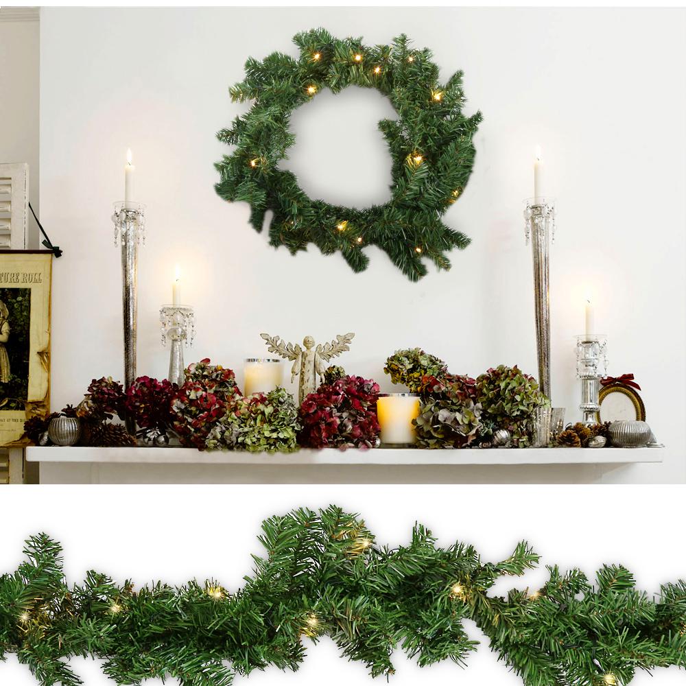 Lichterkette weihnachtsgirlande girlande 100led - Ebay weihnachtsdeko ...