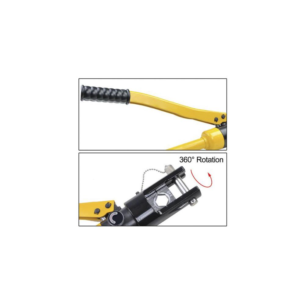 Hydraulische Zange Radialpresse Crimpzange Rohrpresszange 10-300mm² V-Kontur