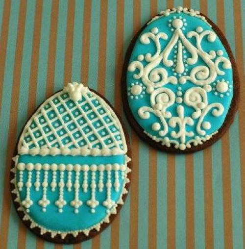 Beautiful Ornament Cookies
