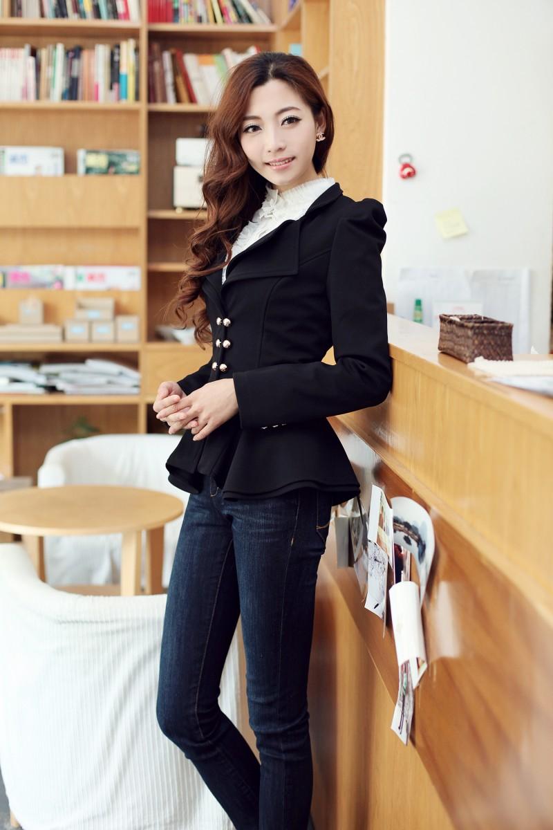 西装外套 女 韩版_中长西装外套 女_小西装女外套_长款西装外套韩版_淘宝助理
