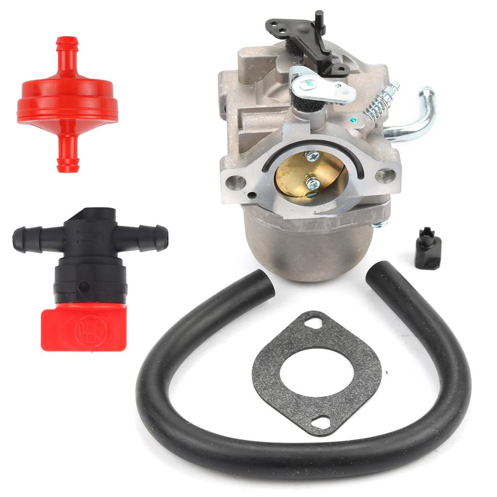 Carburetor For Briggs & Stratton 590399 796077 Fuel line Fuel Filter Carb  Gasket ...