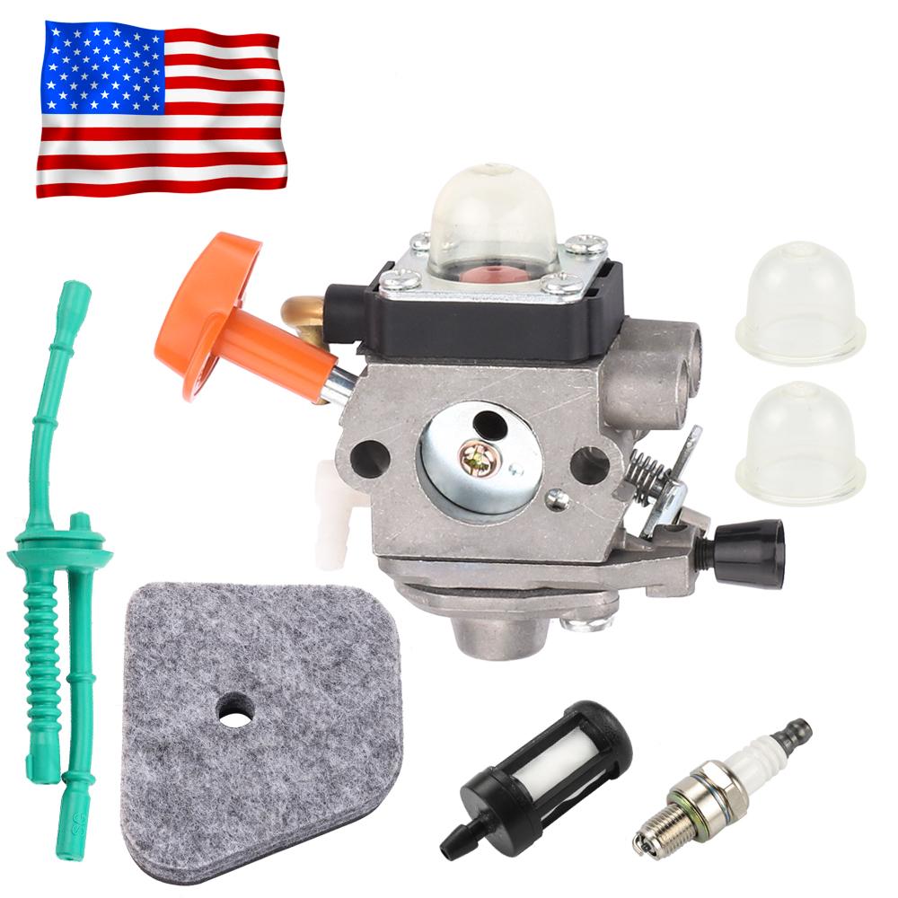 Carburetor Air Fuel Filter For Stihl FS90 FS100 FS110 FS87 FS90R FS90K Trimmer