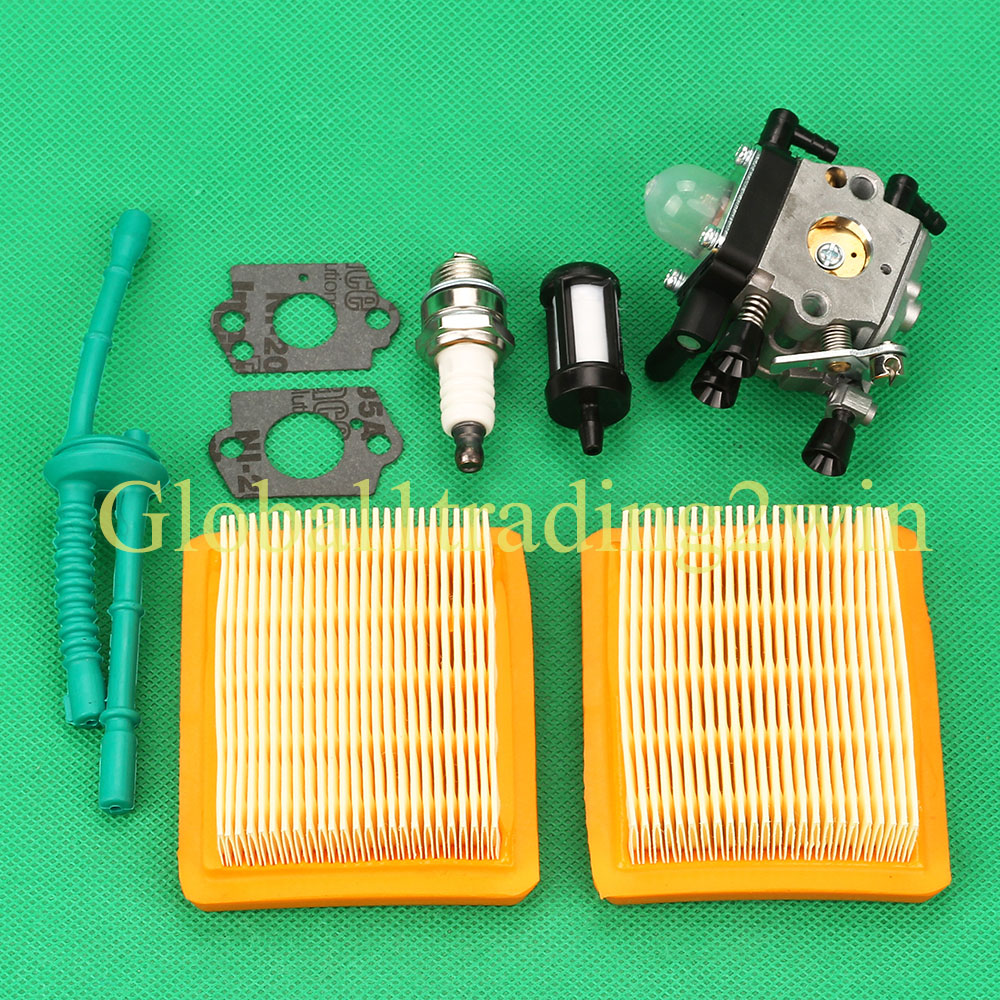 Carburetor Carb Air Fuel Filter Line For Stihl Mm55 Mm55c Tiller Trimmer