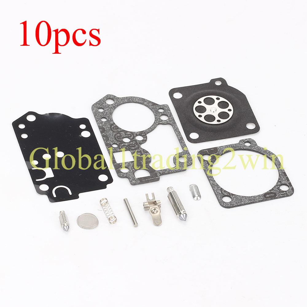10pcs Carburetor For Poulan Ppb200e Ppb250e Ppb300e Ppb32sst Pp446et Pp446e